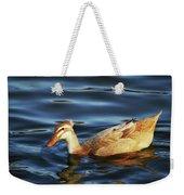 Puffy Headed Duck Weekender Tote Bag