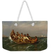 Pull For The Shore Weekender Tote Bag