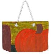 Pumpkin Weekender Tote Bag