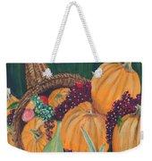 Pumpkin Plenty Weekender Tote Bag