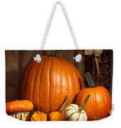 Pumpkins And Gourds Still Life Weekender Tote Bag