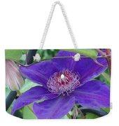Purple Petals Weekender Tote Bag