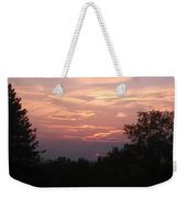 Purple Summer Evening Weekender Tote Bag
