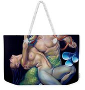 Pygmalion And Galatea Weekender Tote Bag by Patrick Anthony Pierson