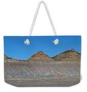 Pyramid Mountains In Emery County Utah Weekender Tote Bag