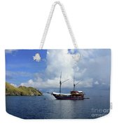 Silent Diving Bay On The Coast Of Sulawesi Weekender Tote Bag