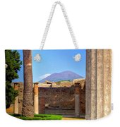 Quiet Vesuvius Weekender Tote Bag