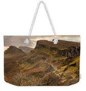 Quiraing Skye Weekender Tote Bag