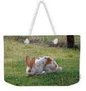 Rabbit Weekender Tote Bag