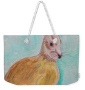 Rabbit Illustration Weekender Tote Bag