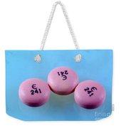 Rabeprazole, 10mg Pill Weekender Tote Bag