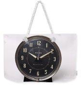 Radium Dial On Clock Weekender Tote Bag