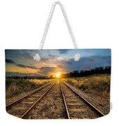 Railroad Weekender Tote Bag