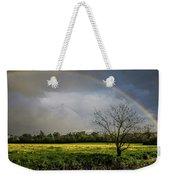 Rainbow Fields Weekender Tote Bag