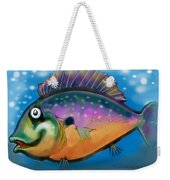 Rainbow Fish Weekender Tote Bag