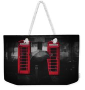 Rainy Day In Manchester Weekender Tote Bag