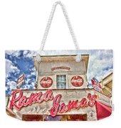 Rama Jama's Weekender Tote Bag by Scott Pellegrin