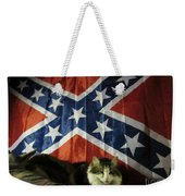 Rebel Cat Weekender Tote Bag