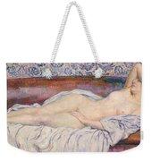 Reclining Nude Weekender Tote Bag