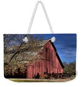 Red Barn Weekender Tote Bag