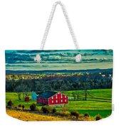 Red Barn - Pennsylvania Weekender Tote Bag