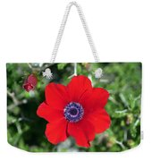 Red Anemone Coronaria 1 Weekender Tote Bag