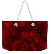 Red Fractal 051910 Weekender Tote Bag