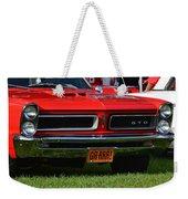 red GTO Weekender Tote Bag
