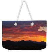 Red Hot Desert Skies  Weekender Tote Bag