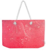 Red Plastic Weekender Tote Bag