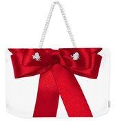 Red Ribbon Weekender Tote Bag