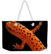 Red Salamander Weekender Tote Bag
