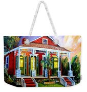 Red Shotgun House Weekender Tote Bag