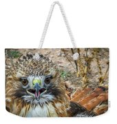 Red-tailed Hawk -5 Weekender Tote Bag