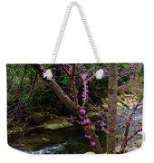 Redbud And River Weekender Tote Bag