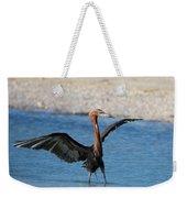 Reddish Egret Weekender Tote Bag