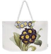 Redoute: Auricula, 1833 Weekender Tote Bag