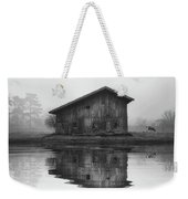 Reflective Morning Weekender Tote Bag