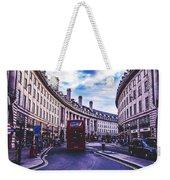 Regent Street In London Weekender Tote Bag