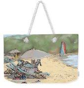 Reggae Beach Weekender Tote Bag