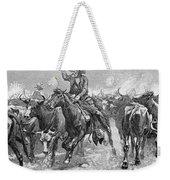 Remington: Cowboys, 1888 Weekender Tote Bag