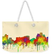 Reno Nevada Skyline Weekender Tote Bag