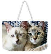 Rescued And Spoiled Weekender Tote Bag