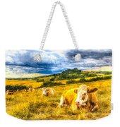 Resting Cows Art Weekender Tote Bag