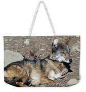 Resting Wolf Weekender Tote Bag