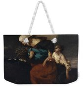 Retreat From The Storm Weekender Tote Bag