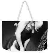 Retro Pinup Weekender Tote Bag by Clayton Bruster