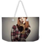 Retro Style Fashion Weekender Tote Bag