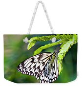 Rice Paper Butterfly 7 Weekender Tote Bag