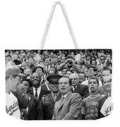 Richard Nixon (1913-1994) Weekender Tote Bag